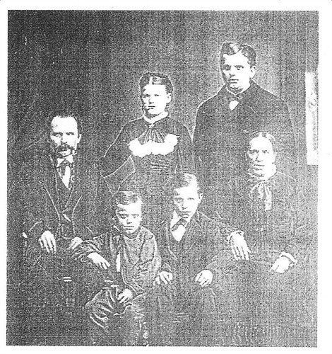 Marcin and Magdalena Bembenek with four of their children